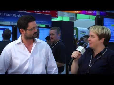 Cisco Roving Reporter Lauren Malhoit Talks With The Infamous Joe Onisick At VMworld 2014