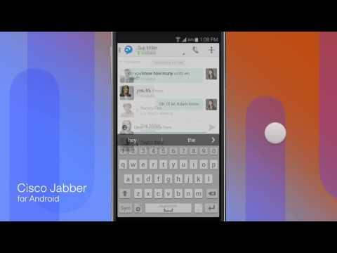 Cisco Jabber For Android 10.6: Instant Messaging And Presence