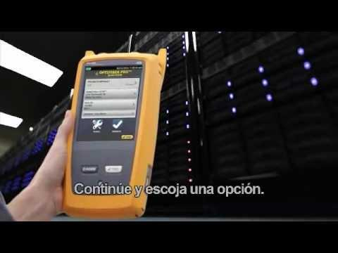 OptiFiber Pro OTDR - OTDR Testing Built For The Enterprise, Spanish Language: By Fluke Networks