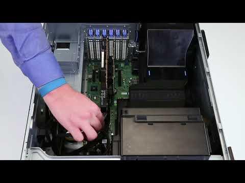 Dell EMC PowerEdge T440: Remove/Install GPU