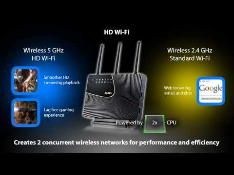 NBG5715 - Simultaneous Dual-Band Wireless N900 Media Router