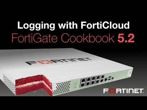 FortiGate Cookbook - Logging W/ FortiCloud (5.2)