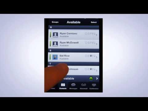 Avaya Demo: Mobile Service Resolution With Avaya One-X Mobile