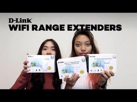 D-Link WiFi Range Extenders - Unboxing DAP Series