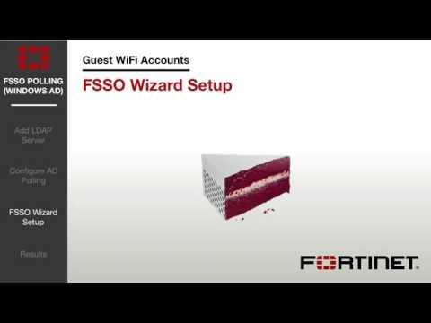 FortiGate Cookbook   FSSO Polling Using Windows AD 5 2