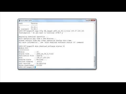 How To Upgrade G450/G350 Media Gateway Using Avaya MV IPTEL Fileserver Application?
