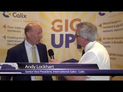 2015 Calix International Partner Summit Interview With Andy Lockhart