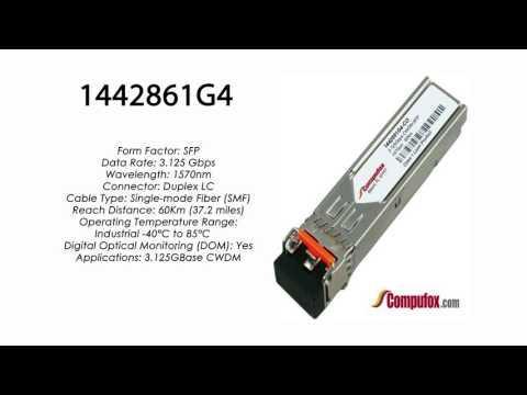 1442861G4 | Adtran Compatible 3.125G CWDM SMF SFP 1570nm 60km