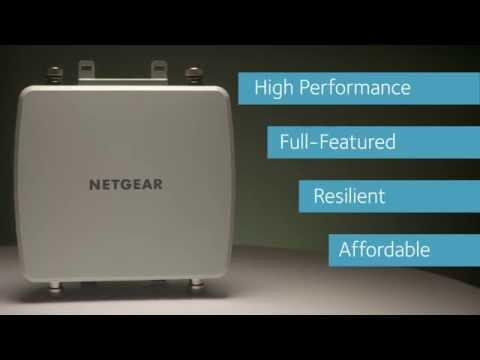 NETGEAR WND930 Outdoor Access Point Product Video
