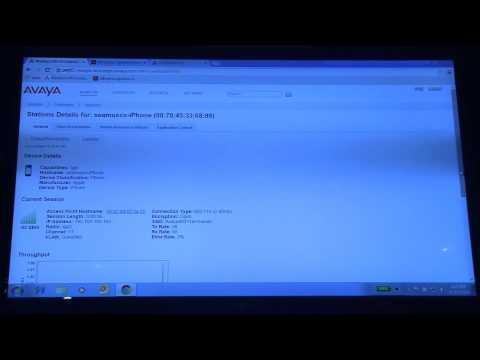 Avaya WLAN: Guest/BYOD Access