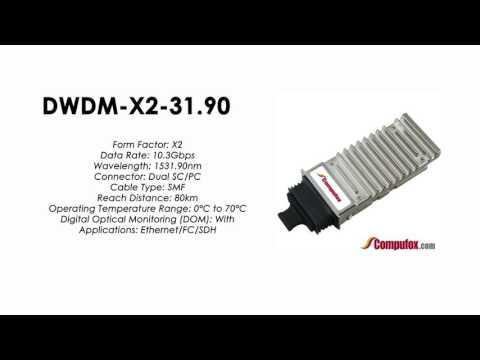 DWDM-X2-31.90  |  Cisco Compatible 10GBASE-DWDM X2 1531.90nm 80km