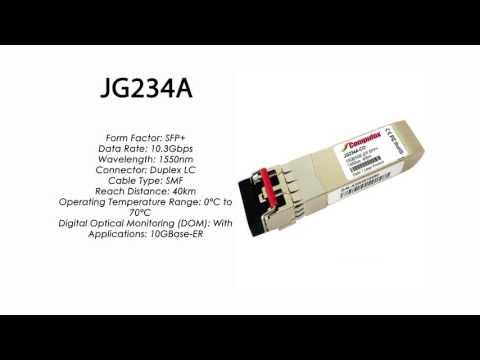 JG234A  |  HP Compatible 10GBase-ER XFP 1550nm 40km