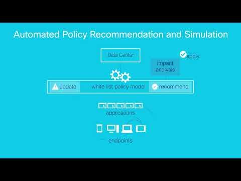 Demo: Cisco Tetration Automated Policy Recommendation And Simulation