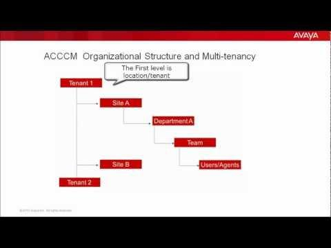 How To Add Organizational Structure In Avaya Contact Center Control Manager