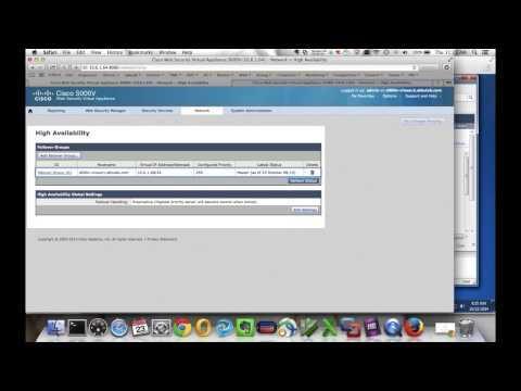 High Availability With Cisco Web Security Appliance (WSA)