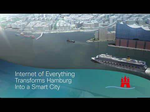 The Internet Of Everything Transforms Hamburg Into A Smart Connected City
