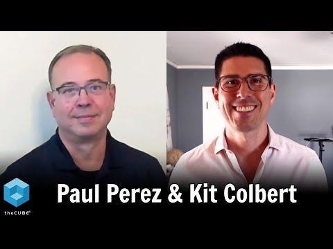 Paul Perez, Dell Technologies And Kit Colbert, VMware   Dell Technologies World 2020