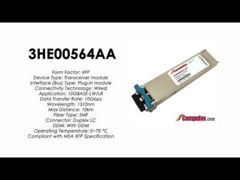 3HE00564AA  |  Alcatel Compatible 10GBASE-LW/LR 1310nm 10km XFP