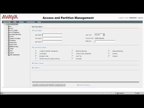 How To Add Admin User In AACC For Avaya Contact Center Control Manager Integration