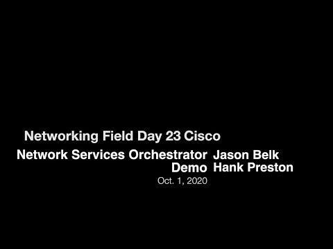 Cisco Network Services Orchestrator Demo