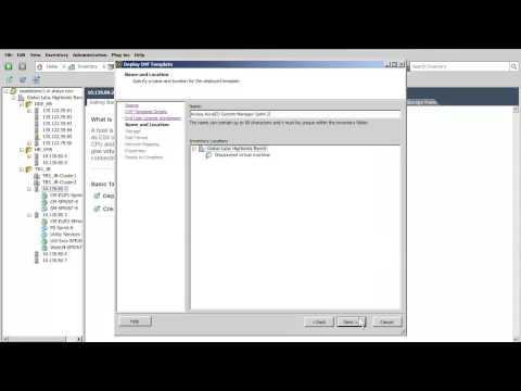 How To Install The Avaya Aura ® System Manager Virtual Appliance