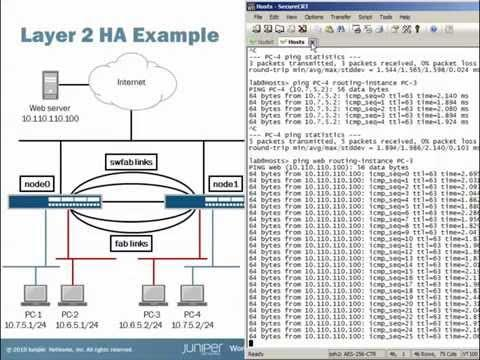 High Availability Switching With SRX Series Devices