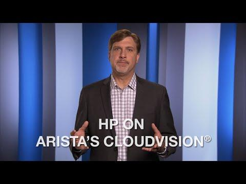 HP On Arista's CloudVision®
