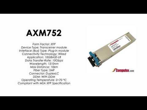 AXM752  |  Netgear Compatible 10GBASE-LR 1310nm 10km XFP