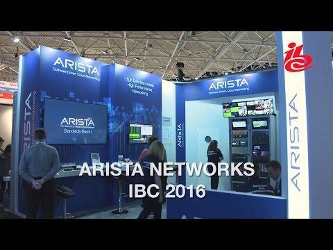 Arista At IBC 2016