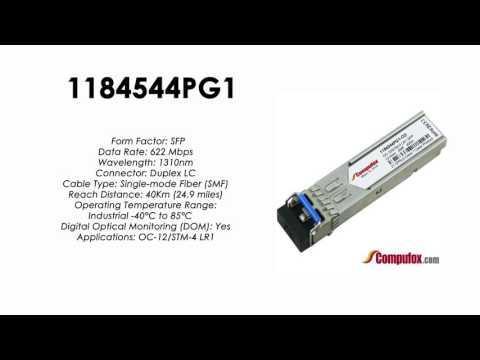 1184544PG1  |  Adtran Compatible OC-12 1310nm 40km SFP