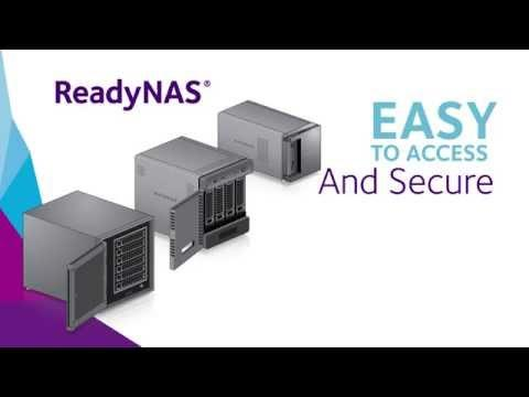 NETGEAR.  Storage Made Easy With ReadyNAS