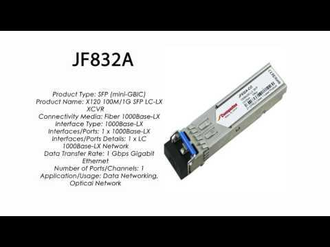 JF832A  |  HP Compatible 1000Base-LX SFP 1310nm 10km
