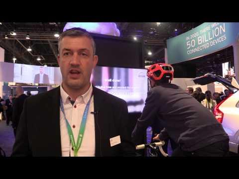 #CES2015: Volvo Demonstrates New Bike Helmet Technology