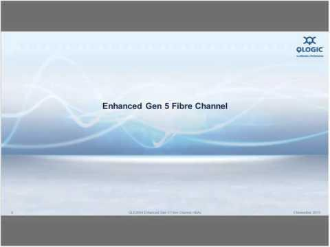 Optimizing Your Fabric With Enhanced Gen 5 Fibre Channel
