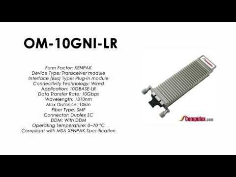 OM-10GNI-LR  |  Alcatel Compatible 10GBASE-LR 1310nm 10km XENPAK