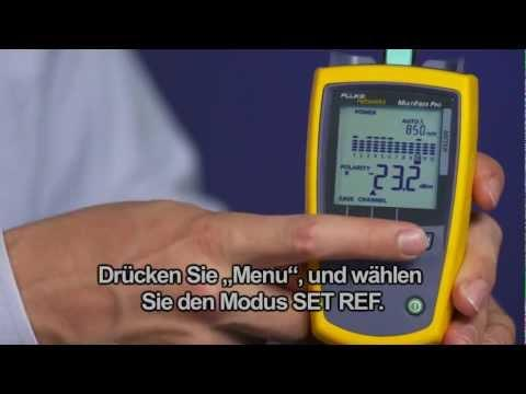 MultiFiber Pro- Optical Power Meter And Light Source, German Language: By Fluke Networks