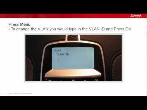 How To Statically Assign The IP Address To An Avaya B179 Conference Phone