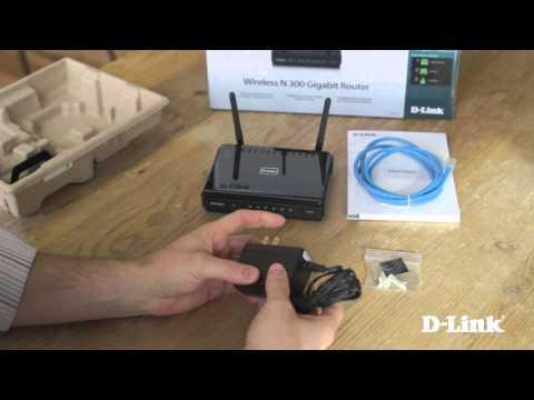 Getting Started:  Wireless N 300 Gigabit Router (DIR-651)