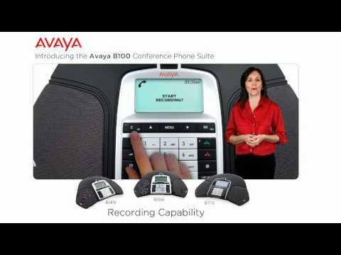 Avaya B100 Series Conference Phone Overview