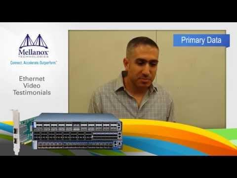 Mellanox Ethernet Switch Customer Testimonial