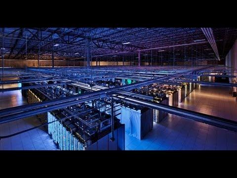 Video Tour Of The Google Data Center
