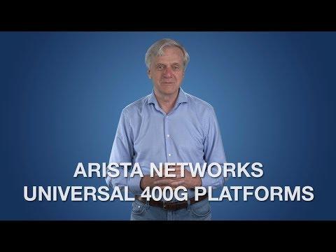Arista Networks Universal 400G Platforms
