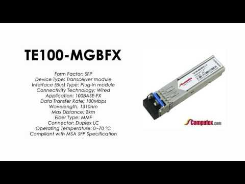 TE100-MGBFX  |  TRENDnet Compatible 100Base-FX 1310nm 2km SFP