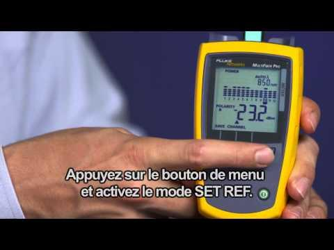 MultiFiber Pro- Optical Power Meter And Light Source, French Language: By Fluke Networks