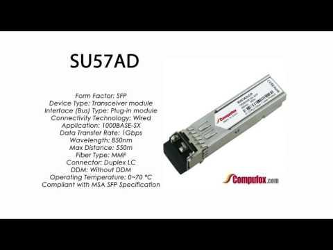 SU57AD  |  Marconi Compatible 1000BASE-SX SFP 850nm 550m