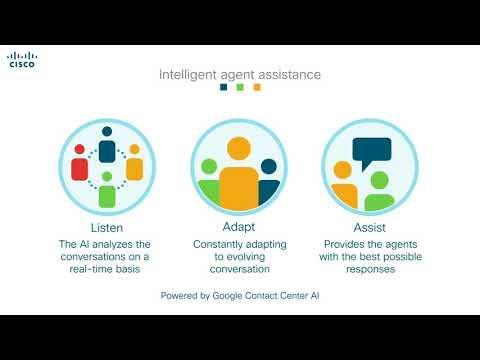 Cisco Integrates With Google Contact Center AI