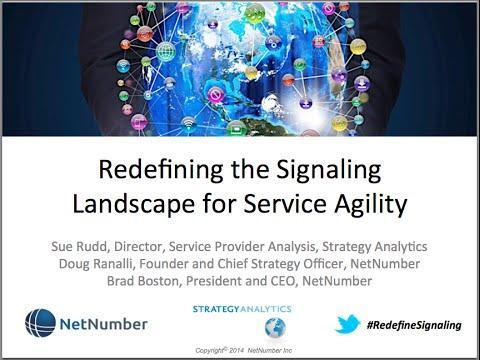 NetNumber Webinar: Redefining The Signaling Landscape To Deliver Service Agility