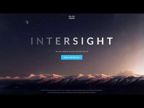 Cisco Intersight Overview