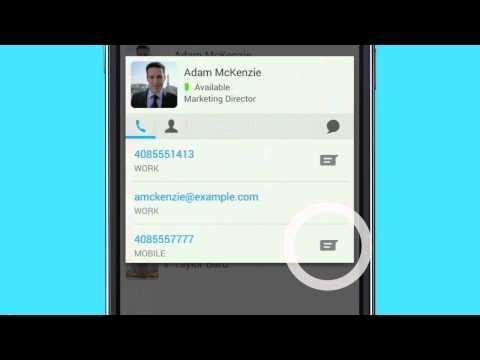 Cisco Jabber For Android 11: Collaborating
