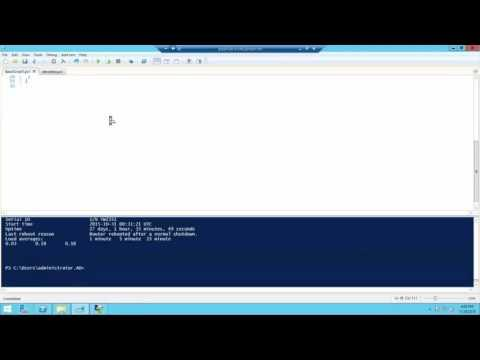 Junos Automation Using Windows PowerShell